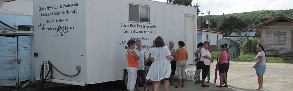 Mobile Breast Screening Clinic in Placetas, Cuba